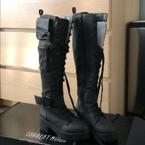 a116d6914 current mood Shoes - Current Mood Obsidian Combat Boots size 7